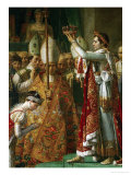 The Coronation of Emperor Napoleon I Bonaparte Giclee Print by Jacques-Louis David