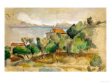 The Bay of L&#39;Estaque, 1878-1882 Giclee Print by Paul C&#233;zanne