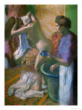 Breakfast after the Bath Giclee Print by Edgar Degas
