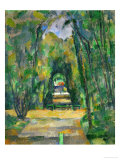 Castle and Village of Medan, circa 1885 Giclee Print by Paul Cézanne