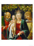 The Holy Family and an Angel, 1515 Giclee Print by Albrecht Altdorfer