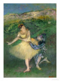Harlequin and Colombine, circa 1886-1890 Giclee Print by Edgar Degas