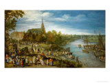 Village Fair in Schelle, 1614 Giclee Print by Jan Brueghel the Elder