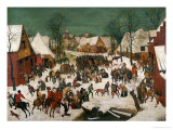 Massacre of the Innocents, 1565 Giclee Print by Pieter Bruegel the Elder