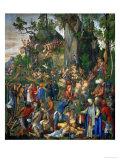 Martyrdom of the Ten Thousand Christians Giclee Print by Albrecht Dürer
