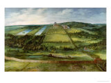 View of the Chateau De Mariemont, Belgium Giclee Print by Jan Brueghel the Elder