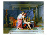 The Love of Paris and Helen Giclee Print by Jacques-Louis David