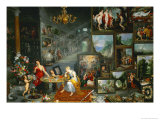 Allegory of Sight, 1617 Giclee Print by Jan Brueghel the Elder