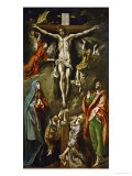 The Crucifixion, 1597-1600 Giclee Print by  El Greco