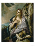 Penitent Magdalen Giclee Print by  El Greco