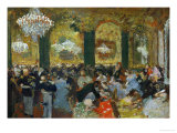 Dinner at the Ball, 1879, after Adolf Von Menzel (1815-1905) Giclee Print by Edgar Degas