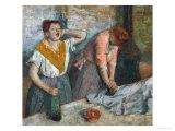Ironing Women, circa 1884-1886 Giclee Print by Edgar Degas