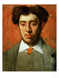 Painter Enrique Melida Y Alinari (1838-1892) Giclee Print by Edgar Degas