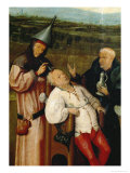 Removing the Stone of Folly Giclee Print by Hieronymus Bosch