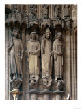 Saint Maurice, Saint Stephen, Pope Clement and Saint Lawrence Giclee Print
