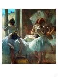 Dancers at Rest, 1884-1885 Giclée-Druck von Edgar Degas