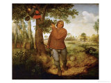 The Poacher, 1568 Giclée-Druck von Pieter Bruegel the Elder