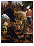 The Martyrdom of Saint Sebastian, Soldier Shooting an Arrow Giclee Print by Albrecht Altdorfer
