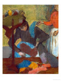 At the Milliner (Chez La Modiste), 1898 Giclee Print by Edgar Degas