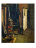 Corner of a Painter's Studio, the Stove Giclee Print by Eugene Delacroix