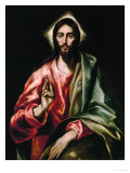 Christ Redeemer, 1610-1614 Giclee Print by  El Greco