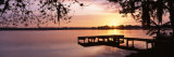 Sunrise, Lake Whippoorwill, Koa Campground, Orlando, Florida, USA Photographic Print by  Panoramic Images