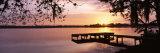 Sunrise, Lake Whippoorwill, Koa Campground, Orlando, Florida, USA Photographic Print by  Panoramic Images