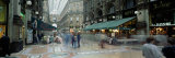Large Group of People on the Street, Milan, Italy Photographic Print by  Panoramic Images