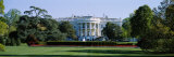 Lawn in Front of a Government Building, White House, Washington D.C., USA Photographic Print by Panoramic Images 