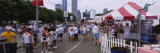 Crowd Eating Food on a Street, Taste of Chicago, Chicago, Illinois, USA Photographic Print by  Panoramic Images