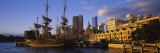 Sailing Ship Moored at a Dock, Campbell's Cove, Sydney, New South Wales, Australia Photographic Print by  Panoramic Images