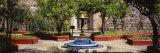 Fountain in Hacienda San Gabriel de Barrera, Guanajuato, Guanajuato State, Mexico Fotografisk trykk av Panoramic Images,