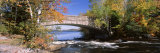 Bridge on a River, Bog River, New York State, USA Photographic Print by  Panoramic Images