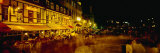 Cafe on a Road Side, Quebec City, Canada Photographic Print by  Panoramic Images