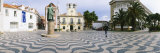Statue in Front of a Church, Cascais, Lisbon, Portugal Photographic Print by  Panoramic Images