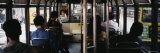 Group of People Traveling in a Tram, Hong Kong, China Photographic Print by  Panoramic Images