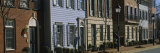 Row of Houses in a Town, Alexandria, Virginia, USA Photographic Print by Panoramic Images 