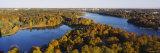Forest, Wenner-Gren Center, Brunnsviken, Stockholm, Sweden Photographic Print by  Panoramic Images