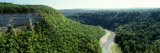 River Flowing through a Forest, Genesee River, Letchworth State Park, New York State, USA Photographic Print by  Panoramic Images