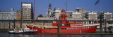 Passenger Ship at a Harbor, Landungsbrucken, Hamburg, Germany Photographic Print by  Panoramic Images