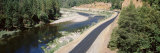 Highway along a River, Klamath River, California, USA Photographic Print by  Panoramic Images