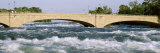 Foot Bridge over Niagara River, New York, USA Photographic Print by  Panoramic Images