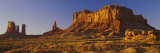 Rock Formations on a Landscape, Monument Valley, Monument Valley Tribal Park, Utah, USA Photographic Print by  Panoramic Images