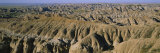 Rock Formations on a Landscape, Badlands National Park, South Dakota, USA Photographic Print by  Panoramic Images