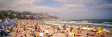 Tourists on the Beach, Sitges, Spain Photographic Print by  Panoramic Images