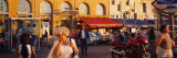 Tourists on the Street, Marseille, France Photographic Print by  Panoramic Images