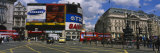 Commercial Signs on Buildings, Piccadilly Circus, London, England Photographic Print by  Panoramic Images