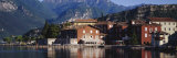Buildings on the Waterfront, Limone, Lake Garda, Italy Photographic Print by  Panoramic Images
