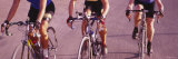 Three Women Cycling Photographic Print by  Panoramic Images