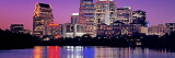 Urban Skyline at Night, Austin, Texas, USA Photographic Print by Panoramic Images